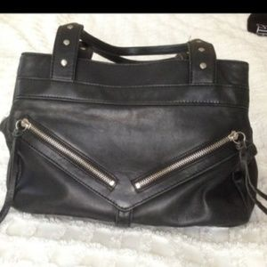 Botkier Large Trigger Satchel Bag (double strap)